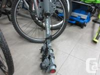 Sportrack attaches to spare tire for easy bike