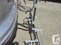 "2 bike Swagman XTC2 Platform bike carrier. Fits 20-29"""