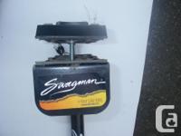 SWAGMAN bike rack. Double trailer hitch mounted double