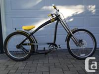 Brand new Cariboo Chopper Bike was custom built by