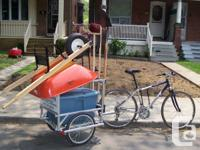This is a solid bike bike trailer that I used to run a