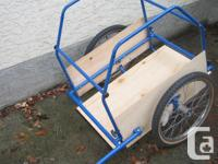 Bike Trailer - new paint - 20 inch tires in very good