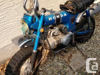 1973 Honda 70 - A great antique - Great for