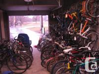 Volunteer Bike Coop Recondition and sell used bicycles