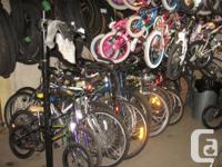 50+ Used Bikes All sizes types etc From $10 to $300