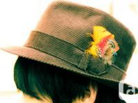 Biltmore  Hat  Men's Vintage  Size: 7 3/8 Color: brown