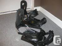 $60 OBO.  Carefully used, these bindings were made use