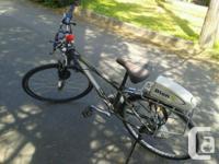Bion X Electric Trek mountain bike 21 Speed lithium