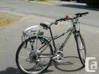 Bion X Electric Trek mountain bike 21 Speed Says M /