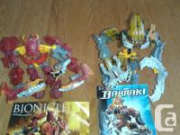 20 Bionicle figures for sale. Posted 16 pictures of the