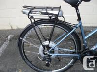 New bike with New Bionx Electric Assist kit. Fuji