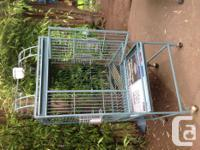 This is one of several cages I have for sale, comes