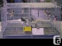 BIRD CAGES FOR SALE 8 Cages for sale for $100 4 are 18""