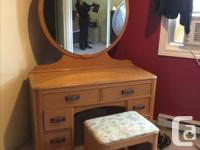 Antique 70 years old. Birds Eye Maple. Comes with