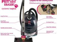 Bissell Pet Hair Eraser Cyclonic Canister Vacuum  -