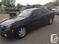 Make Cadillac Model CTS Year 2006 Colour Black kms