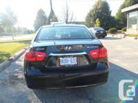 Vehicle: Black 2010 Hyundai Elantra GL   Asking Price: