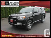 Year: 2011 Make: Toyota Model: 4Runner Trim:  Body:4 Dr