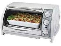 Black and Decker Toaster Oven - $25   Countertop