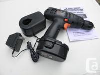 BLACK & DECKER 3/8 Cordless Drill 14.4V 3/8 drill