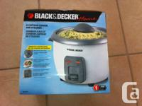 I am selling an unopened, unused Black & Decker 6 Cup