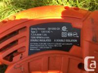 "Black & Decker GrassHog XP GH1000 7.2A, Type 4, 14"""