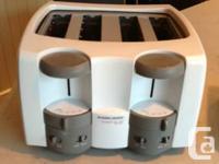 Black & Decker Toast It All Deluxe -4 Slice Toaster