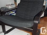 Just moved. Have no room for these chairs. -PO�NG chair