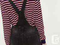 Super cute short overalls from Ardene in size 5 (26-28