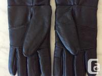 Used, BLACK LEATHER LADIES GLOVES NEEDING A SMALL REPAIR TO for sale  British Columbia