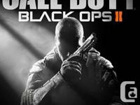 Black Ops 2 for xbox 360 in good working condition