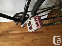 Selling my boyfriend's old Raleigh fixie bike. It's in
