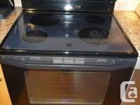 "Maytag self cleaning, smooth top stove and ""over the"