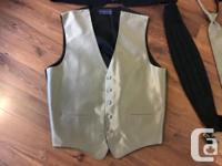 Jacket XL, Tall Vest Large, Long (Andrew Fezza brand,