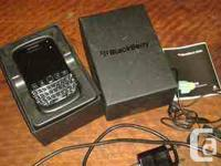 I have a Blackberry Bold 9790 for sale phone works