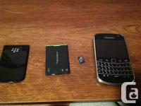 Blackberry bold 9900 locked to Rogers in 8/10