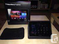 BlackBerry PlayBook - 16 gig - all original packaging