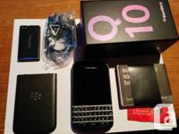 Selling a factory unlocked BlackBerry Q10.   Phone is