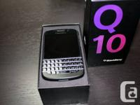 This pristine condition BlackBerry Q10 is factory