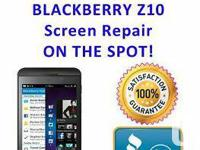 BlackBerry Z10 Screen Repair  - All repairs come with
