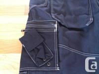 Selling a pair of brand new, tags on, black work pants.