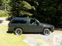 Make. Chevrolet. Model. Blazer. Year. 1988. Colour.