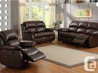VACATION IMPACT OUT DEALSSS !!!!!  NATURAL LEATHER 3PCS