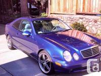 Blue CLK430 AMG year 2002 Mileage around 70000KM Good