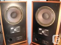 REALLY WANTED: OLD TANNOY AND JBL BLUE FACE SPEAKERS,