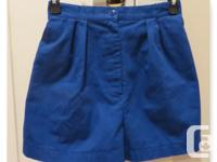 Highwaisted shorts - size: small - materials: 50%