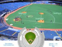 2 Tickets for Blue Jays Home Opener vs Yankees.  $80