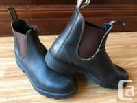 I have a nearly new pair of authentic Blundstone boots,
