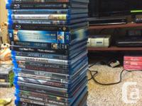 37 BluRay movies, selling as a lot...that's less than