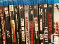 Lot 1 selling bluray movies for $3 each. Transit, 3:10